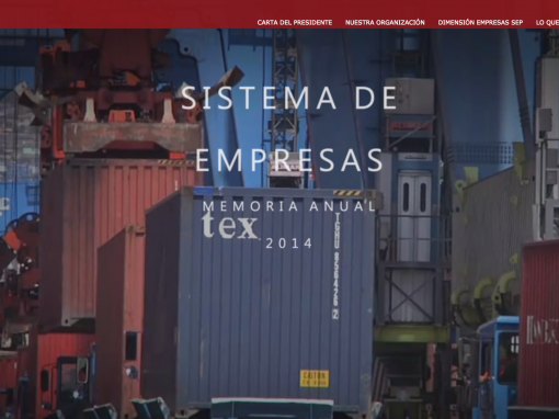 Video Header – Memoria Anual 2014 – SEP Chile