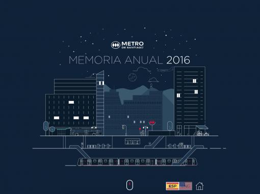 Metro – Memoria y Reporte de Sostenibilidad 2016