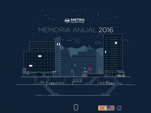 Metro – Infografías animadas