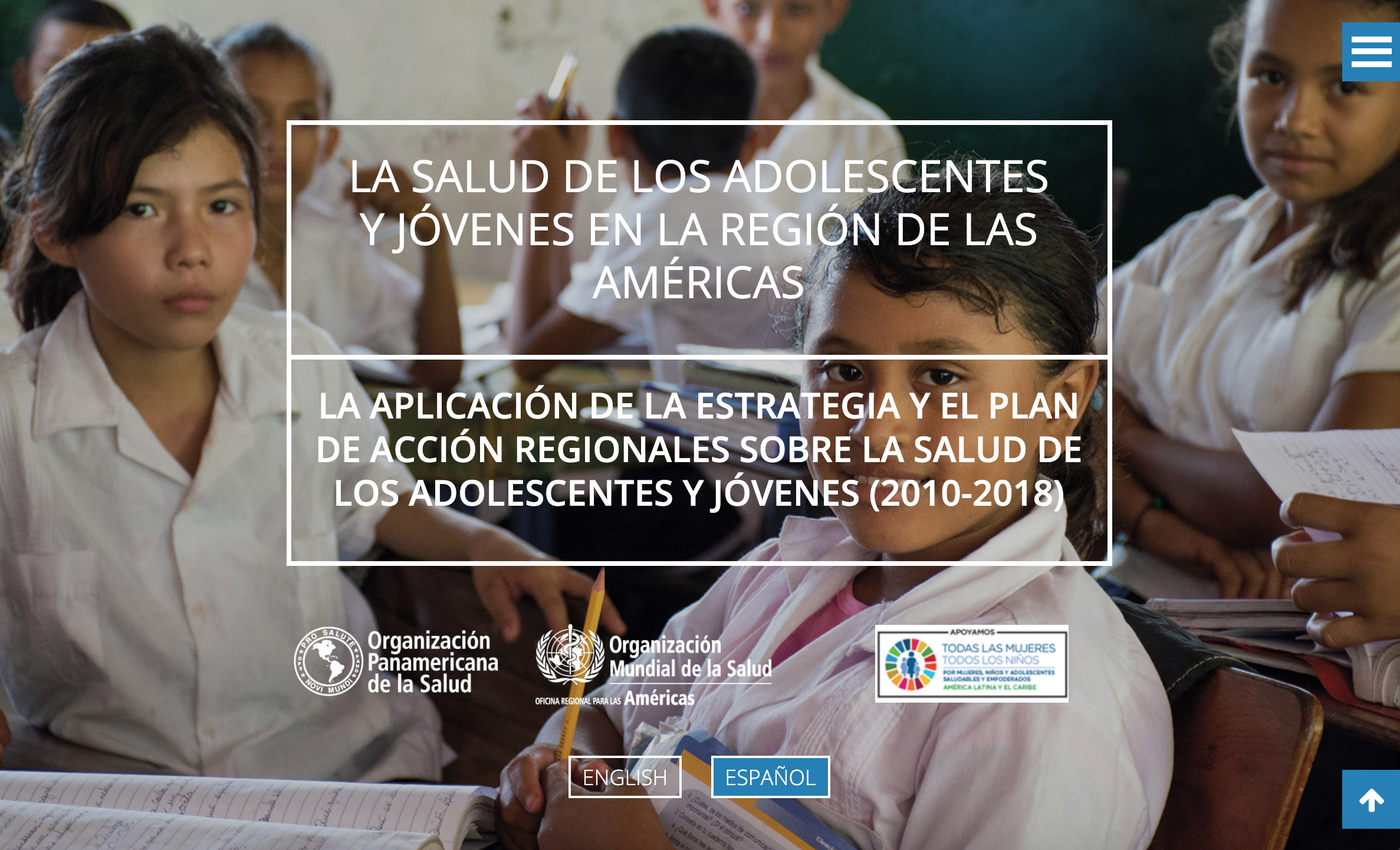 OPS – Informe Salud Adolescente